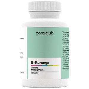 Probiotik Bi Kurunga 90 tabletok Korallovyj Klub 600