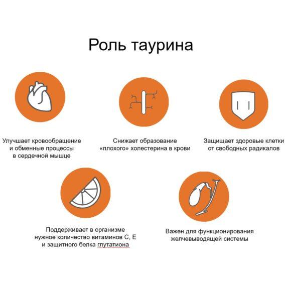 Rol v organizme Taurina dlya serdca Sibirskoe Zdorove