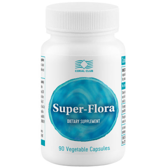 Пробиотик БАД Супер Флора от Компании Коралловый Клуб