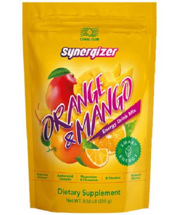 Энергетический напиток «Синерджайзер со вкусом апельсина и манго»