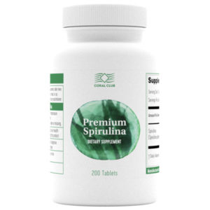 Bad Premium Spirulina v tabletkah Korallovyj Klub