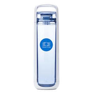 Butylka dlya vody Coral Bottle One 750 belo golubaya Korallovyj Klub
