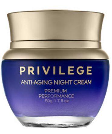 Privilege Крем для лица и шеи омолаживающий ночной