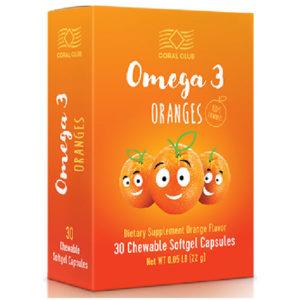 Zhirnye Kisloty Omega 3 Apelsina Korallovyj Klub