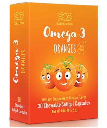Детская «Омега 3 Апельсина»