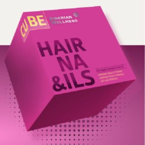 Bad 2 dlya volos nogtej 3D Hair Nails Cube Sibirskoe Zdorove