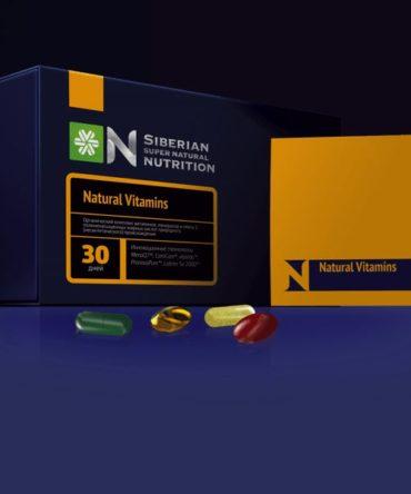 Натуральный витаминно-минеральный супер комплекс «Natural Vitamins»