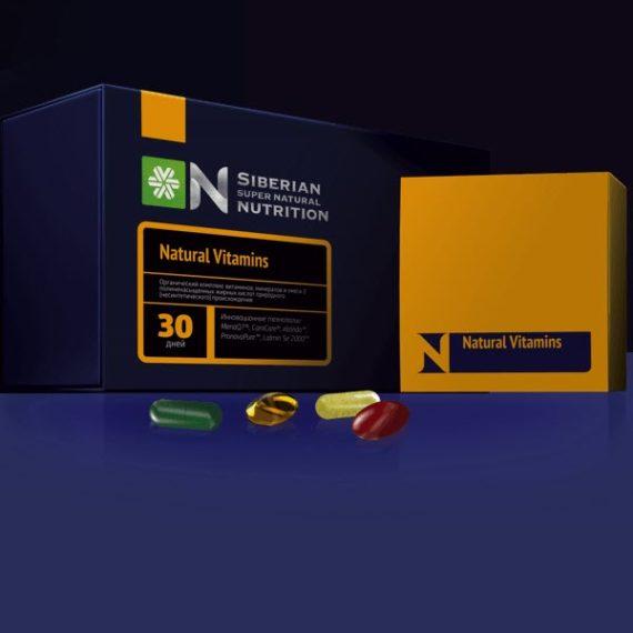 Bad Vitaminno Mineralnyj Kompleks Natural Vitamins Sibirskoe Zdorove