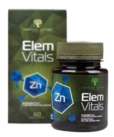 Бад «Элемвитал с органическим цинком» для повышения иммунитета