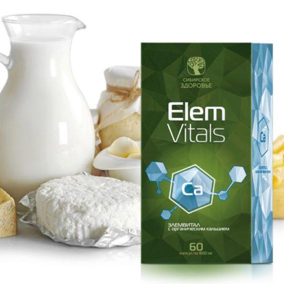 Bady Mikroelementy Elemvital s kalciem Sibirskoe Zdorove 700