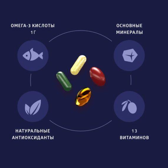 Sostav Foto Bad Vitaminno Mineralnyj Kompleks Natural Vitamins Sibirskoe Zdorove
