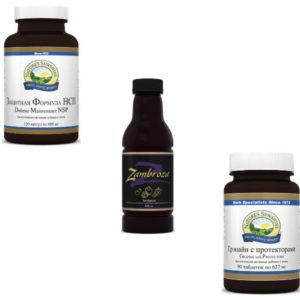 Kategoriya Bady antioksidanty kompanii NSP