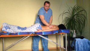 Massazh spiny v Nizhnem Novgorode