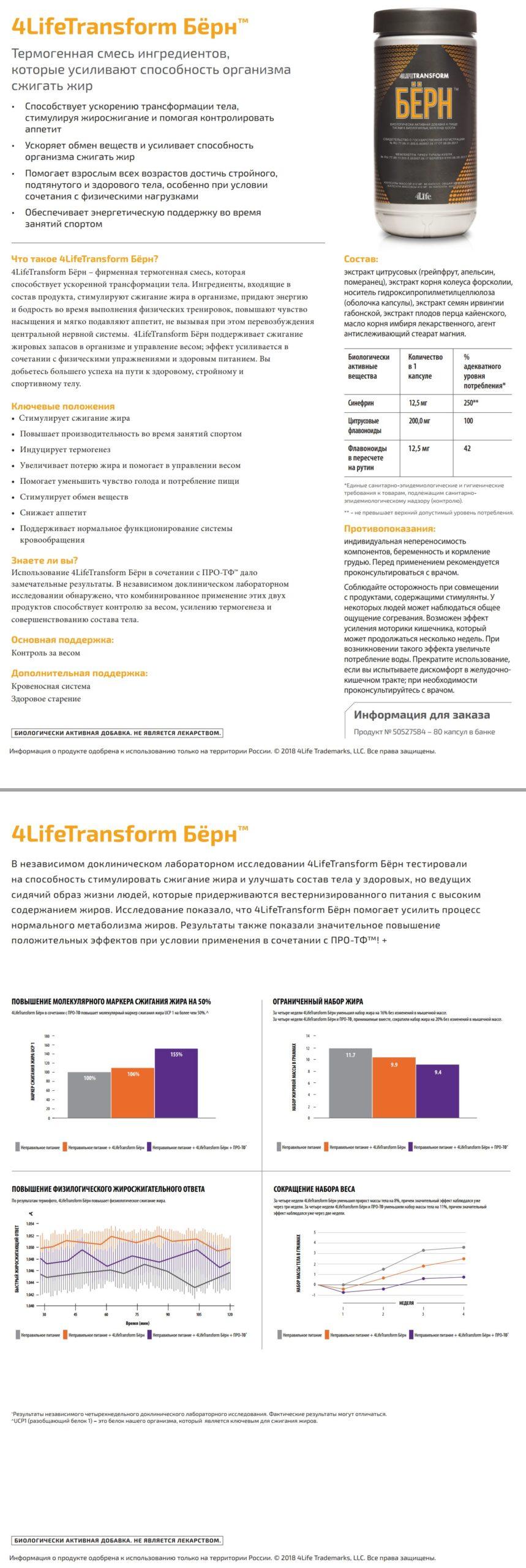Prezentaciy 4Life Transform Burn