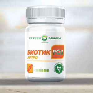 Biotik Roz Artro Probiotiki Rodnik Zdorovya
