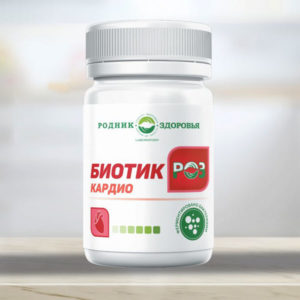 Biotik Roz Kardio Probiotiki Rodnik Zdorovya