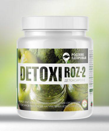 «ДетоксиРОЗ-2» - восстановление после очищения