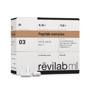 Foto Kompleksnye peptidy Havinsona dlya nervnoj sistemy i glaz Revilab Peptide ML 03