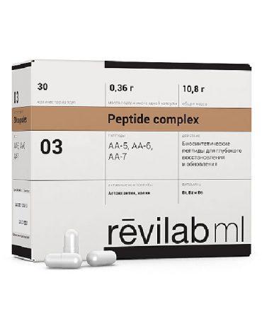 Пептидный комплекс для нервной системы и глаз «Revilab ML 03»