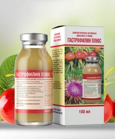 «Гастрофилин плюс» для оздоровления печени и желчного пузыря