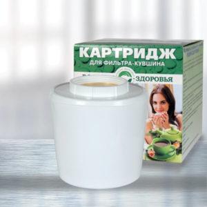 Kartridzh Filtr Kuvshin dlya ochischeniya vody Rodnik Zdorovya