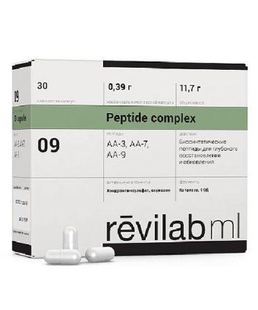 Пептидный комплекс для суставов, костей, связок и хрящей «Revilab ML 09»