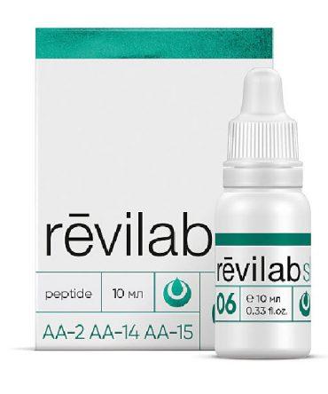 Пептидный комплекс для дыхательной системы «Revilab SL 06»