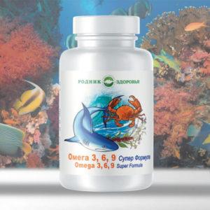 Omega 3 6 9 super formula Rodnik Zdorovya