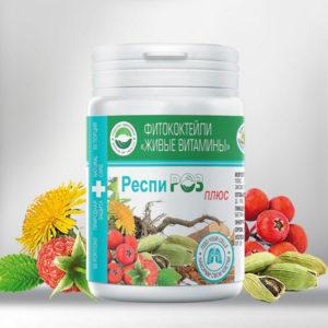 Respiroz Plyus Fitokoktejli Zhivye Vitaminy Rodnik Zdorovya