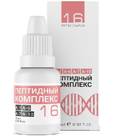 «Пептидный комплекс №16» для желудка и кишечника