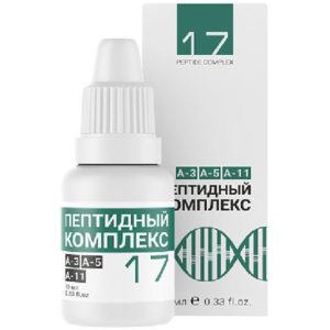 Peptidnyj kompleks 17 dlya glaz