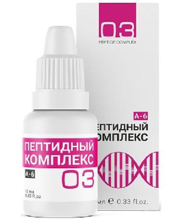«Пептидный комплекс №3» для повышения иммунитета