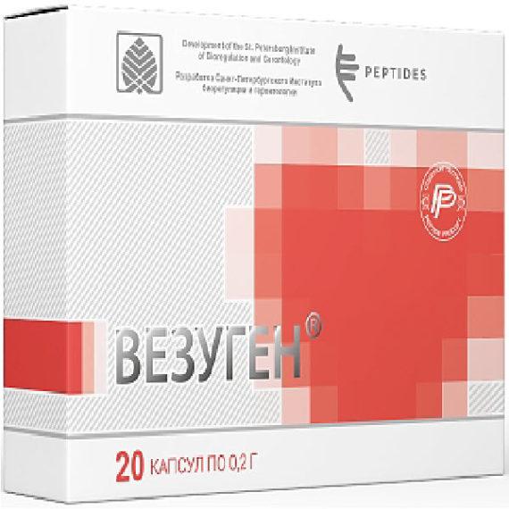 Peptidy serii Citogeny dlya sosudov Vezugen 1