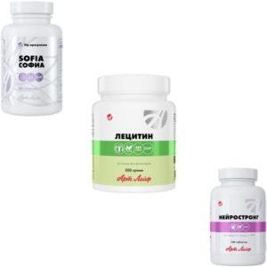 Biodobavki dlya mozga i CNS ArtLajf
